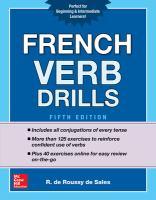 French verb drills
