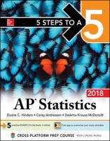 AP Statistics 2018