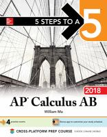 AP Calculus AB 2018