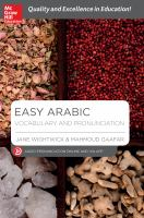 Easy Arabic Vocabulary and Pronunciation