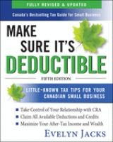 Make Sure It's Deductable, 5th Edition
