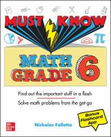 Must Know Math