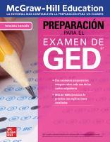 McGraw-Hill Education preparación para el examen de GED