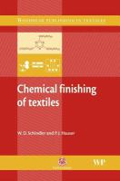 Chemical Finishing of Textiles (Woodhead Publishing in Textiles)