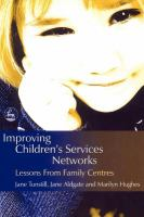 Improving Children's Services Networks