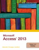 New Perspectives [on] Microsoft Office Access 2013