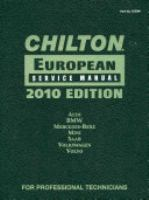 Chilton European Service Manual, 2012, Volume 2