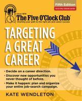 Targeting A Great Career