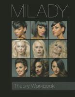 Milady Standard Cosmetology Theory Workbook