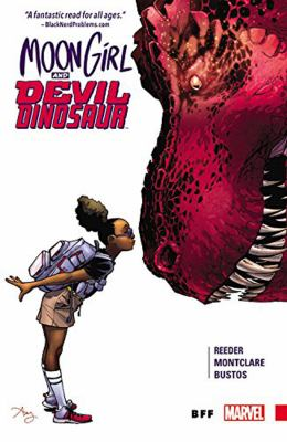 Cover image for Moon Girl and Devil Dinosaur