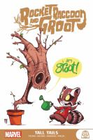 Rocket Raccoon and Groot. Tall tails