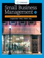 Small Business Management (18th)