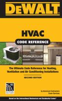 HVAC Code Reference