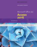 MS Office 365 Access 2016 Comprehensive (2017)