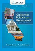 California Politics and Government