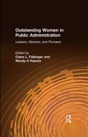 Outstanding Women in Public Administration