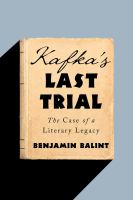 Kafka's Last Trial