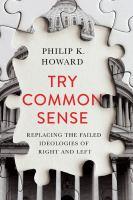 Try Common Sense