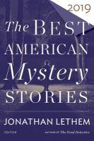 The Best American Mystery Stories 2019