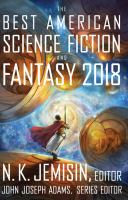 The Best American Science Fiction And Fantasy 2018