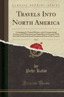 Travels Into North America (Classic Reprint)