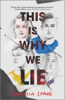 This is why we lie312 pages ; 22 cm