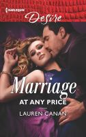 Marriage at Any Price