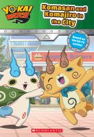 Yo-kai watch : Komasan and Komajiro in the city