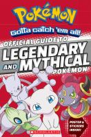 Image: Official Guide to Legendary and Mythical Pokémon