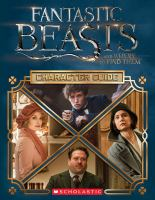 Fantastic Beasts and Where to Find Them Character Guide