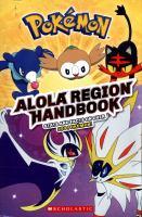 Pokémon : Alola Region handbook.