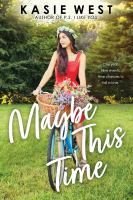 Cover of Maybe This Time