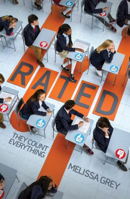 On the cover of the book Rated, students in school uniforms sit in rows of desks