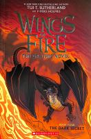 Dark Secret (Wings of Fire Graphic Novel #4): A Graphix Book by Tui T Sutherland