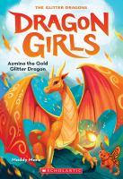 Azmina the Gold Glitter Dragon