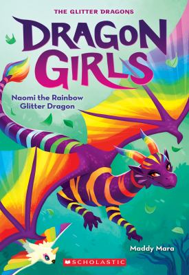 Naomi the rainbow glitter dragon