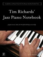 Tim Richards' Jazz Piano Notebook