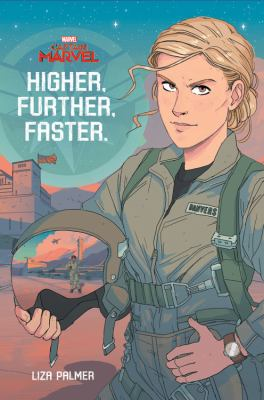 Captain Marvel: Higher, Further, Faster(book-cover)