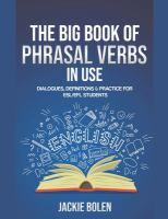 Big Book Of Phrasal Verbs In Use