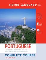 Brazilian Portuguese Complete Course
