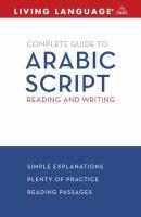 Living language Arabic complete course