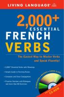 2,000+ Essential French Verbs