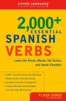 2,000+ Essential Spanish Verbs