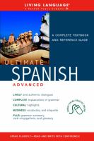 Ultimate Spanish advanced