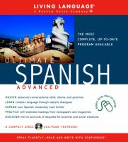 Ultimate Spanish advanced