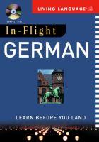 In-flight German