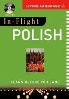 In-flight Polish