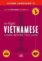 In-flight Vietnamese