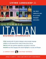 Ultimate Italian beginner-intermediate.