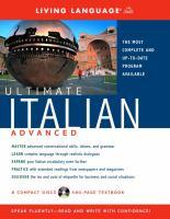 Ultimate Italian advanced.